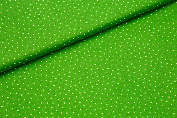 Bele pike na zeleni