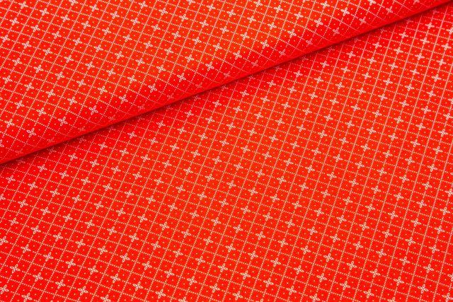 Hello summer bel vzorec na rdeči
