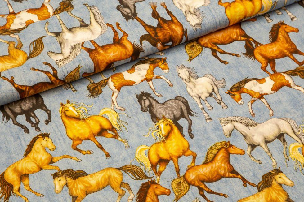 Horse lover konji na modri