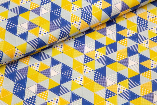 Rumeni modri trikotniki