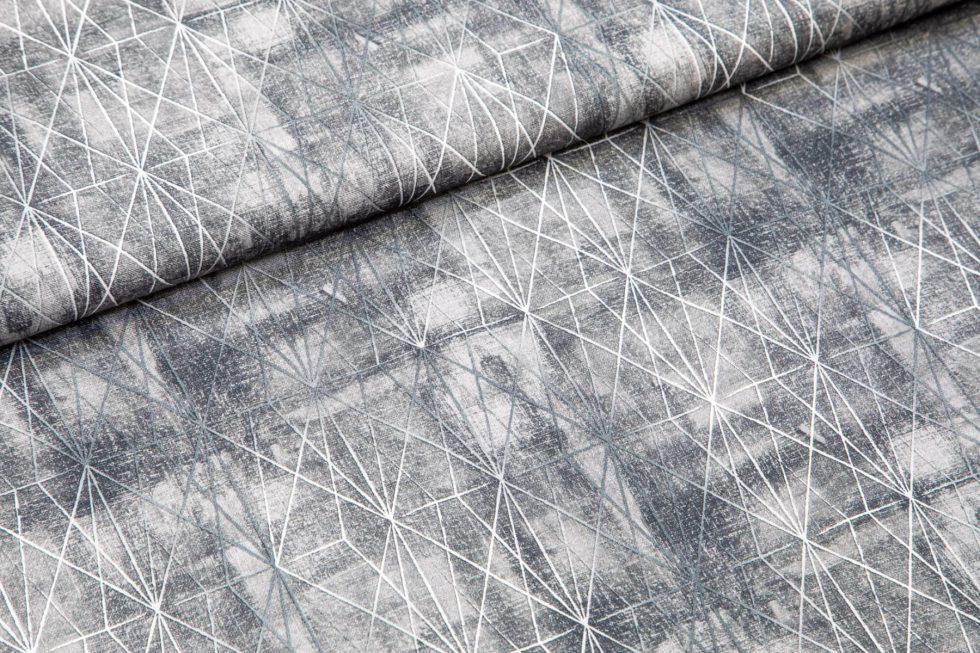 srebrne črte na sivi