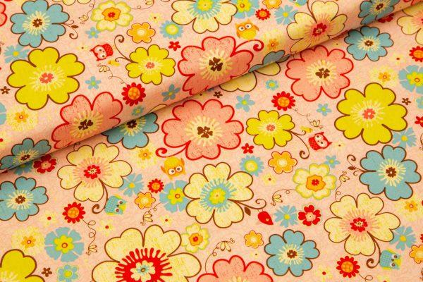 Vesele sovice na roza